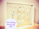First Wedding Anniversary – Handmade Gift Challenge#6