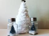 DIY Dollar Store Anthropologie Inspired Salt Shaker SnowGlobe