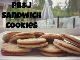 Flourless Peanut Butter & Jam SandwichCookies