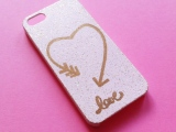 DIY Love Inspired Cell Phone Cover